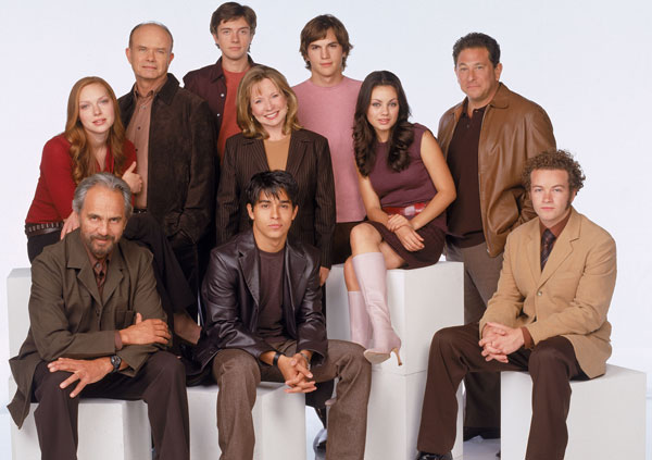 The full 70s show cast