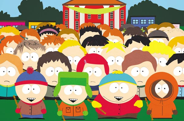 The kids of South Park