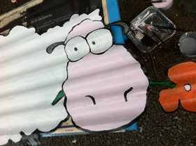 Corrugated Iron Sheep