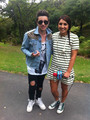 Leanna hanging out with Reece Mastin