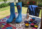 Kanoa's Blinging Gumboots