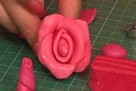 Fimo Jewellery – Polymer Rose Ring