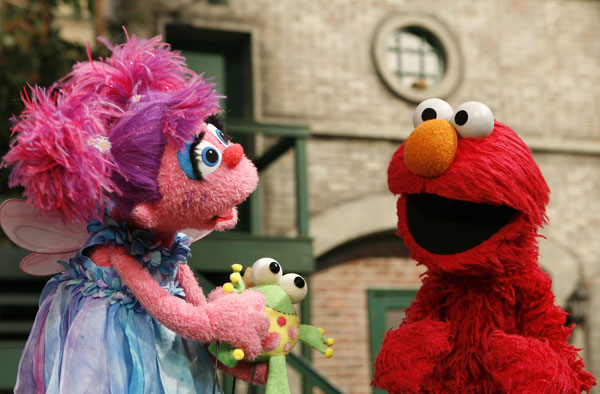 Abby &amp; Elmo