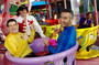 The Wiggles in tea cups