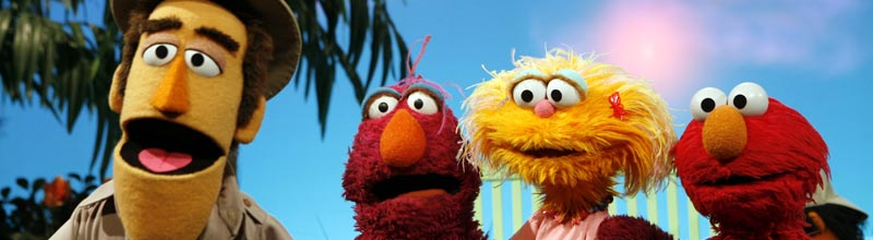Sesame Street, 6am & 2pm Weekdays
