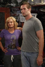 (L-R): Virginia (Martha Plimpton) and Burt (Garret Dillahunt) in &quot;Dream Hoarders&quot;.