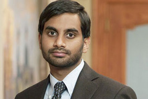 Aziz Ansari on Parks and Recreation on FOUR