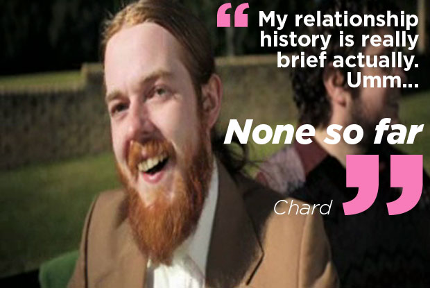 Will Chard find love on Beauty and the Geek?