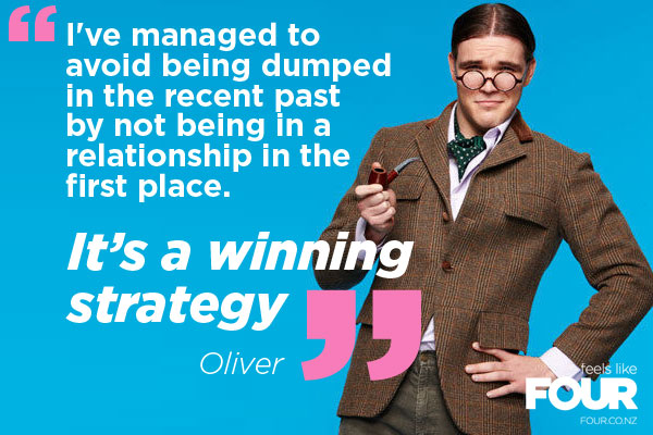 Oliver reveals the best way to avoid heartbreak