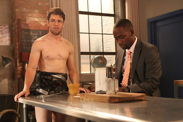 Schmidt's shower pants