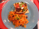 Taco Cupcakes and Carrot Salad