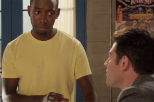 Winston gets Sympathy PMS on New Girl