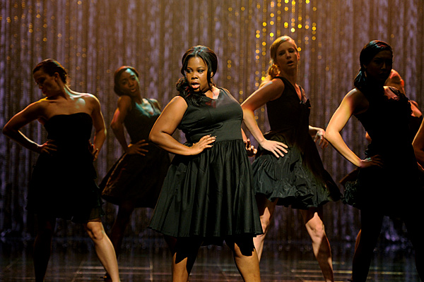 "Mercedes (Amber Riley) in ""Mash Off."""