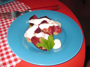 Gerry's Fruity Clafouti