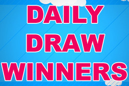 DAILY DRAW WINNERS