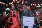 Katie Holmes guest stars as 'the slutty pumpkin'