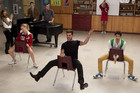 Ricky Martin guest stars on Glee.