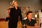 Sue Sylvester and Coach Beiste
