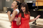 Santana and Rachel pay tribute to Whitney.