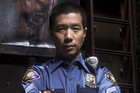 Sgt. Wu (played by Reggie Lee)