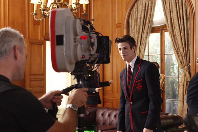 Behind the scenes - Blaine visits Sebastian.