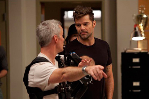 Behind the Scenes - Ricky Martin guest stars in The Spanish Teacher