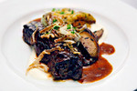 Beef Stroganoff with Herb Spaetzle and Roasted Wild Mushrooms