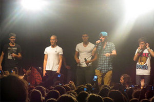The Wanted Hit NZ Shores