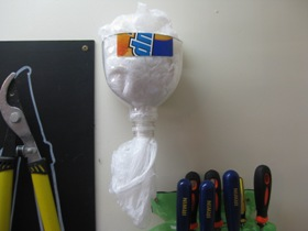 Recycled Plastic Bag Dispenser