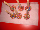 Apple Choc Pops