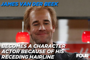 His role in How I Met Your Mother depicts how he might look in future