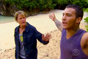 Survivor Caramoan - Brandon has a meltdown