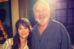 Zooey and Rob Reiner