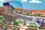 Visit the world of Springfield from The Simpsons