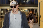 Cory Monteith is out of rehab with Lea Michele by his side