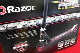 BE IN TO WIN A RAZOR ULTRA PRO SCOOTER