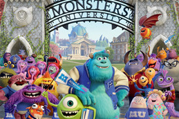 Monster's University Web Comp