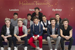 Hysteria over One Direction Waxworks
