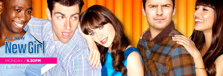 New Girl Mondays 8:30pm