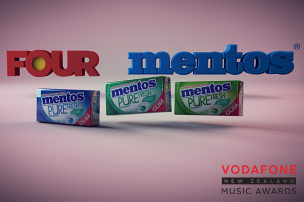 Win a VIP Experience at the Vodafone New Zealand Music Awards for you and a friend, thanks to Mentos!