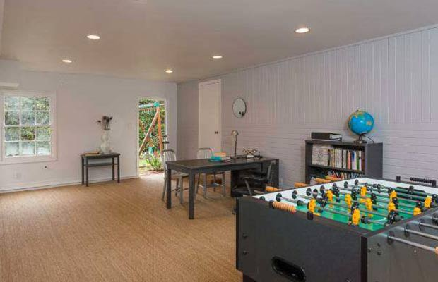 What man-cave is complete without a foosball table?