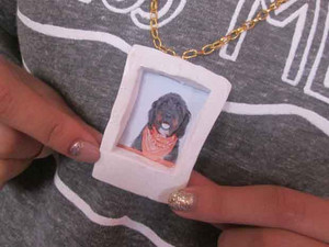 Leanna's Mini Polaroid Necklace
