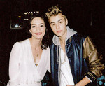 Shannon and Justin Bieber