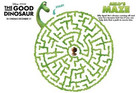 The Good Dinosaur Maze