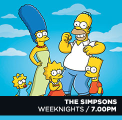The Simpsons (black)