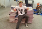 Newspaper Throne