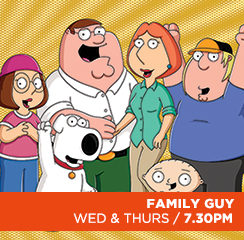 Family Guy (orange)