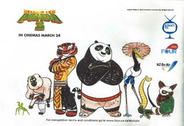 Kung Fu Panda 3 Colouring in Comp!