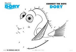 'Finding Dory' Activity Sheets!