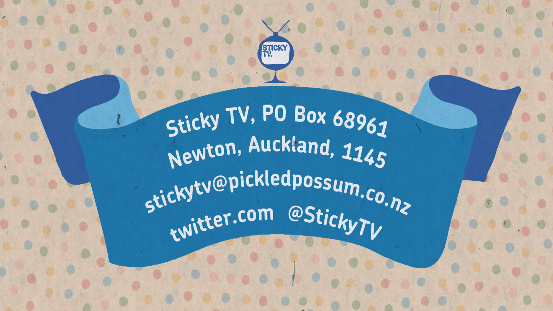 Sticky TV Address